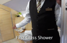 VIDEO: Here's what it's like flying first class on the world's biggest airliner