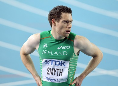 Smyth won two golds in Beijing four years ago.