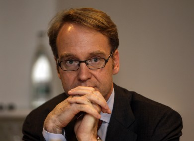 German Central Bank chief Jens Weidmann