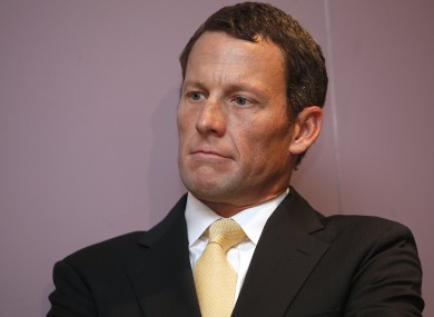 Lance Armstrong (file photo).