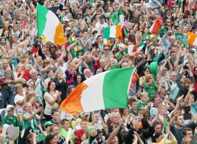 Crowds gathered in Bray for Taylor's semi-final.