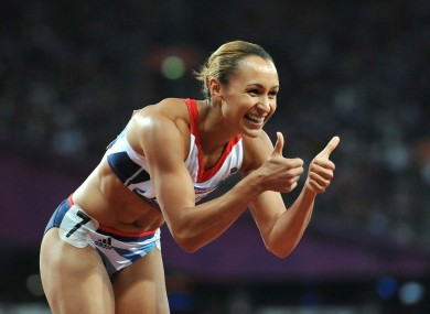 Golden girl? Jessica Ennis.