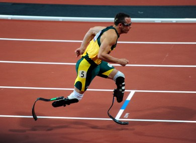 Oscar Pistorius: the most famous prosthetic-wearer.