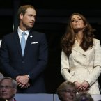 The Duke and Duchess of Cambridge. (AP Photo/Matt Dunham)