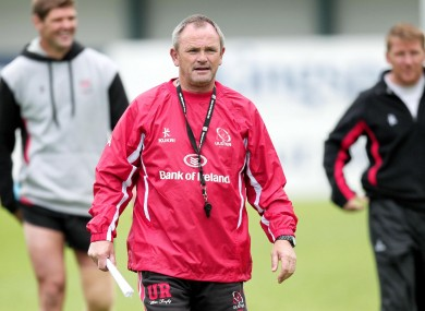 New Ulster coach Mark Anscombe has picked an experimental side.