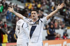 VIDEO: Robbie Keane scores, sees red as LA Galaxy win 5-2
