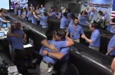 VIDEO: The happiest group of NASA employees you'll see today