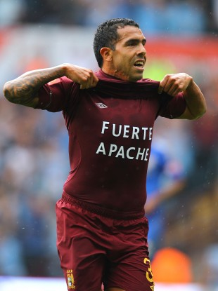 Carlos Tevez: back in top form it seems.
