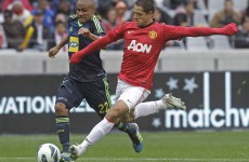 Hernandez happy to learn from Van Persie