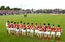 Mayo announce unchanged side for Down clash
