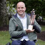 Pictured is Mark Pollock, People of the Year Award winner, for his determination in overcoming significant physical adversity and constantly pushing out new boundaries as an explorer and adventure racer. Photo: Mark Stedman/Photocall Ireland