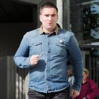 Dermot Ryan, another brother of murdered Real IRA leader Alan Ryan, leaves the Special Criminal Court in Dublin today. Photo: Laura Hutton/Photocall Ireland