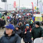 Crowds on the first day of the National Ploughing Championships. Photo: Laura Hutton/Photocall Ireland