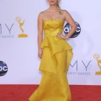 There's Kaley Cuoco from The Big Bang Theory in yellow. 