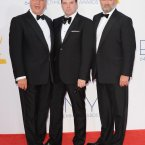 The men of Downton scrub up well. Check out Bates in the middle giving us the blue steel. 