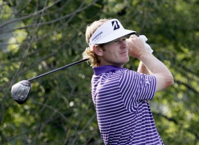 Snedeker last week. 