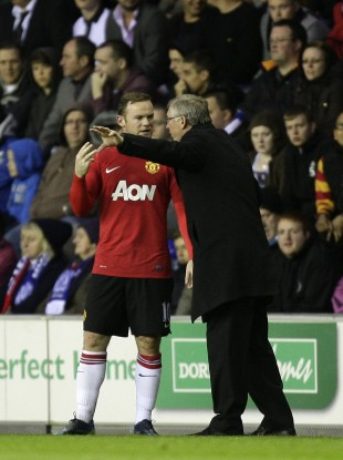 Rooney admits to being somewhat scared of Ferguson.