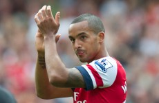 Wenger warns Walcott he could be sold