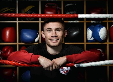 Carl Frampton ahead of his Commonwealth and IBF Intercontinental title defence against Steve Molitor. 