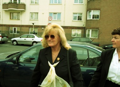 Catherine Nevin during her trial in 2000.
