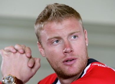 Andrew Flintoff (file photo)