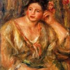 This €770,000 painting - full title Madeleine Leaning on Her Elbow with Flowers in Her Hair - was stolen during an armed robbery from a home in Houston, Texas, last year. (Image: FBI)