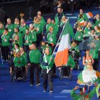 Ireland enter the Opening Ceremony