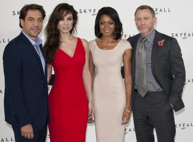 James Bond Skyfall photocall - London