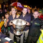 GAA Football All Ireland Champions Donegal Homecoming, Pettigo, Co. Donegal 24/9/2012