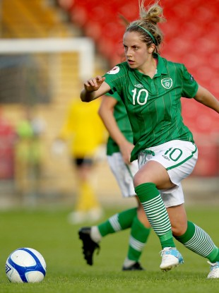 Julie Ann Russell continues to excel for Ireland.