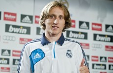 'Modric will be a fans' favourite at Madrid' – Mourinho