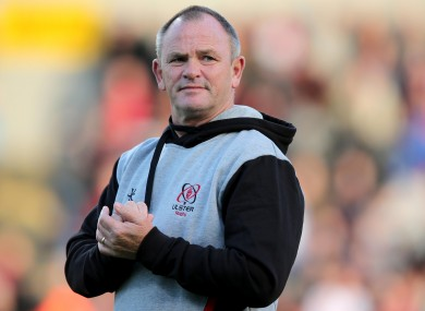 Ulster coach Mark Anscombe was delighted with his team's win.