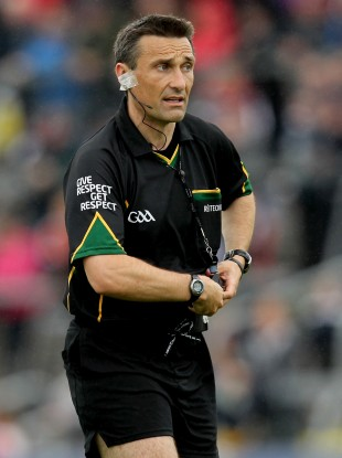 Man In The Middle: Laois whistler Maurice Deegan will take charge of the All-Ireland decider.