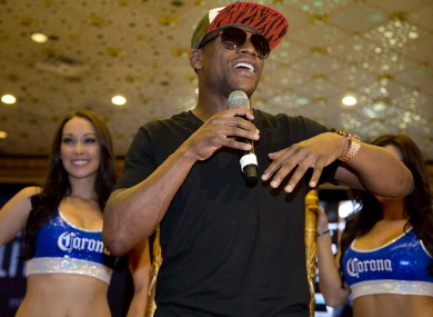 Floyd Mayweather Jr: pay-out.