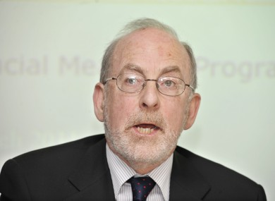 Irish Central Bank Governor, Patrick Honohan