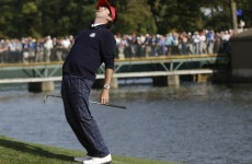 As it happened: Ryder Cup 2012, day 1