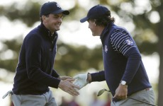 Ryder Cup: Mickelson and Bradley win for USA