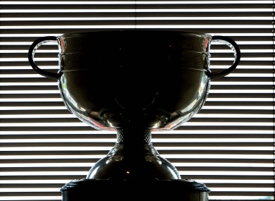 The Sam Maguire trophy. Can Mayo bridge the gap this weekend?
