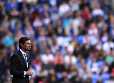 AVB on the sideline yesterday.