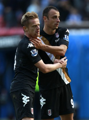 Duff and Berbatov helped Fulham see off Wigan today. 