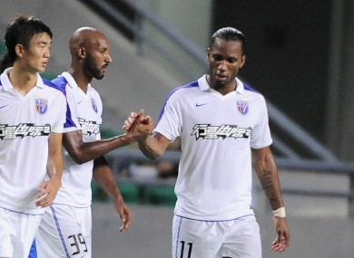 Drogba and Anelka seem set to make a return to Shanghai Shenhua.