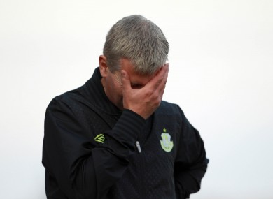 Stephen Kenny: sacked by Shamrock Rovers on Tuesday.