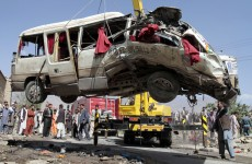 15 wedding guests killed in roadside bomb in Afghanistan
