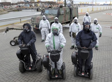 Segways are already used by the Defence Forces and by police in Dublin Airport.