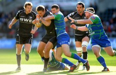 Pro12: Connacht lose out to Ospreys on a tough afternoon in Wales