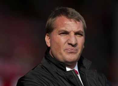 Rodgers believes his team are short of options in attack.