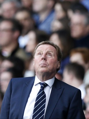 Harry Redknapp: getting bored.