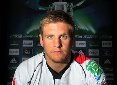 Chris Henry will lead Ulster against the Dragons tonight.
