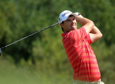 Harrington joins Bubba Watson, Webb Simpson and Keegan Bradley in the event.