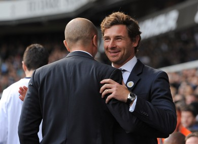 The two managers before kick-off.
